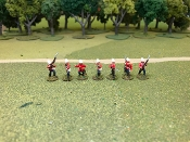 British Zulu War Infantry Firing