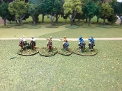 Allied Mounted Generals/Officers-French,German,Us,British,Russia
