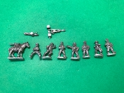 British Naval Brigade Gattling Guns