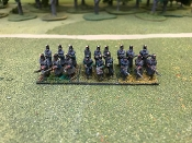 Infantry Greatcoat and Shako Advancing