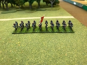 Wurttemburg Infantry Advancing