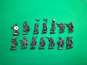 Dismounted Gothic Heavy Cavalry w/Cmd
