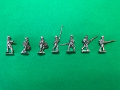Line Infantry Advancing
