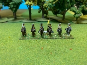 Light Dragoons With Command