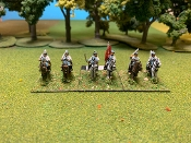 Continental Light Dragoons 3rd & 4th Regiments With Command