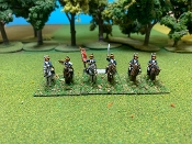 Continental Light Dragoons 1st & 2nd Regiments With Command